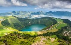 Azores, Portugal  Azores is composed of nine volcanic islands in the middle of the ocean. It is situated approximately 1, 500 km west of Lisbon and about 1,925 km southeast of Newfoundland, Canada. The islands have fascinating views at were renowned for world-class whale watching and hot mineral springs.  Website: www.studyenglishgenius.com Russian website: www.studyenglishgenius.com/ru/ E-mail: info@studyenglishgenius.com Skype ID: geniusenglishacademy   image source: www.google.com