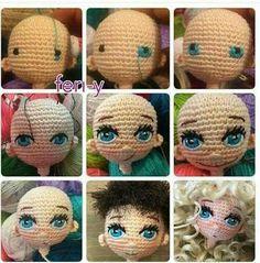 Mesmerizing Crochet an Amigurumi Rabbit Ideas. Lovely Crochet an Amigurumi Rabbit Ideas. Crochet Amigurumi, Crochet Doll Pattern, Amigurumi Patterns, Amigurumi Doll, Doll Patterns, Crochet Eyes, Crochet Stitches, Crochet Baby, Crochet Dolls