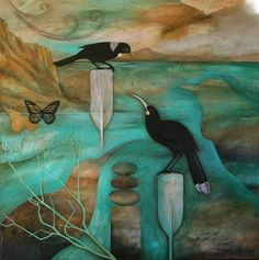 """The Story teller """"Kathryn Furniss Abstract Sculpture, Sculpture Art, Metal Sculptures, Bronze Sculpture, Art Maori, New Zealand Art, Nz Art, Art Courses, Artist Painting"""