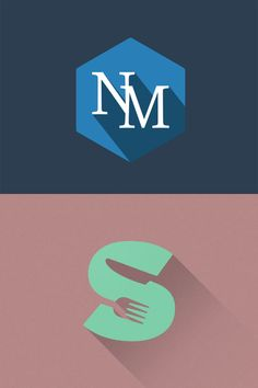 Untitled 1 45 Cool Long Shadow Flat Logo Designs (+ 4 free LS Generators)