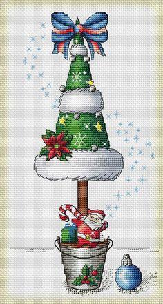 Mouseloft stitchlets CROSS STITCH KIT ~ Pupazzo di Neve Natale ~ ~ NUOVO