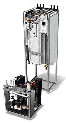 Een warmtepomp is een apparaat dat warmte uit lucht of bodem omzet naar warmte voor verwarming en tapwater. Efficiënter dan een CV-ketel maar de installatie is kostbaar.