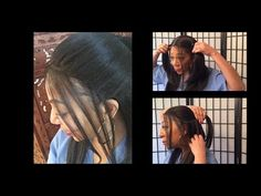 Outre lace front wig natural yaki - YouTube