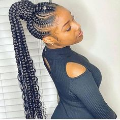 African Braids Hairstyles Pictures, Black Girl Braided Hairstyles, Black Girl Braids, Braided Hairstyles Updo, Girls Braids, Braided Ponytail, Braid Styles For Men, Best Braid Styles, Hair Styles