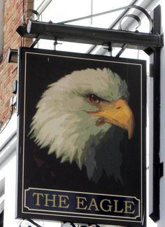 Plymouth The Eagle Pub Sign Devon