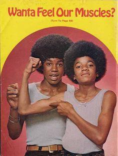 Michael & Jermaine.