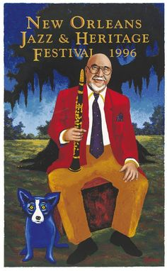Musings of an Artist's Wife: The Jazz Fest Poster: Part 1