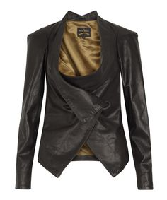 leather jacket by vivienne westwood