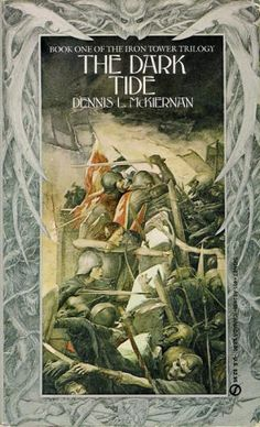 Alan Lee, Cover for The Dark TIde, Iron Tower Trilogy #1 by Dennis McKiernan