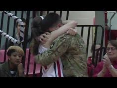 #Emotional video: Albright Women's #Basketball Player Surprised on Senior Day by Brother's Return from #Afghanistan