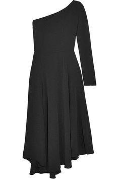 Vanessa Bruno - Hestia One-shoulder Crepe Midi Dress - Black