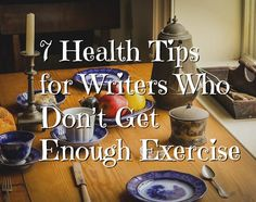 Unless you write on a walking treadmill, you probably don't get enough exercise! These tips are for writers who know that healthy bodies equal healthy minds. Writing Quotes, Writing Advice, Healthy Mind, Healthy Habits, Walking Treadmill, Healthy Bodies, I Am A Writer, A Writer's Life, Writers Write