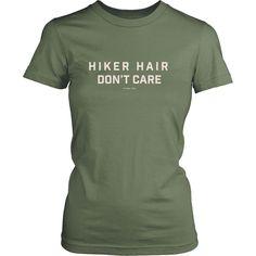 Hiker Hair Don't Care Tee