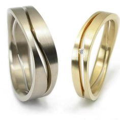 """Influenced by the flow of rivers: """"MUZE"""" weddingrings by Vincent van Hees"""