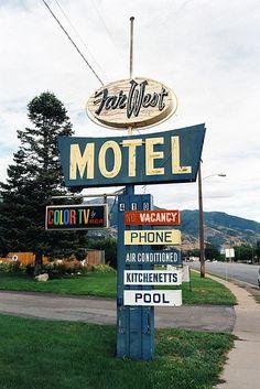 Far motel.