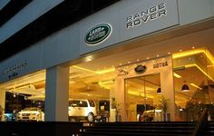 Visit Land Rover showrooms