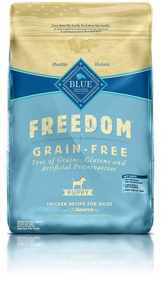 Blue Buffalo Freedom Grain Free Dry Puppy Food Chicken Recipe Grain Free 24 lb
