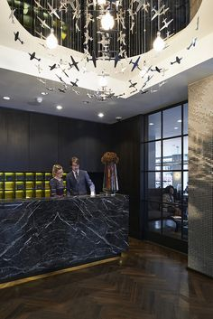 Reception at South Place Hotel by South Place Hotel, via Flickr