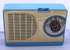 Vintage Spica 6-transistor radio, made in Japan.