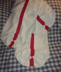 3 sacs à pain , anciens , lin bandes rouges ,pour réutilisation ou document de la boutique FRANCEDECO sur Etsy