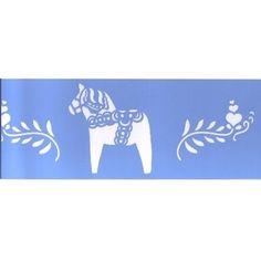 Dala Horse Stencil $12.99