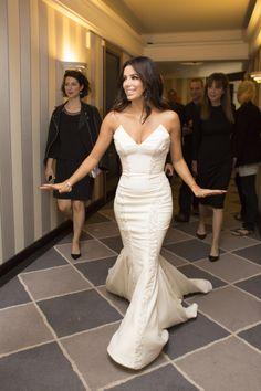"""I look like a rock & roll bride!"" - #EvaLongoria, Festival de Cannes 2014"