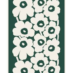 Marimekko Wallpaper, Marimekko Fabric, Linen Fabric, Cotton Linen, Poppy Pattern, Pattern Art, Types Of Curtains, Linens And More, Fabric Online
