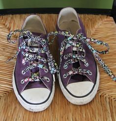 house on hill road: Weekend Making: Fabric Shoelaces