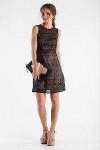 Αμάνικο φόρεμα με δαντέλα - Bettina Stores Bettina Stores