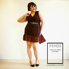 """Erzullie Fierce Plus Size Fashion Philippines: PLUS SIZE FASHION: #OOTD """"URBANE"""" Plus Size Girls, Plus Size Women, Holiday 2014, Ootd, Looking For Women, Philippines, Plus Size Fashion, Elegant, Outfits"""