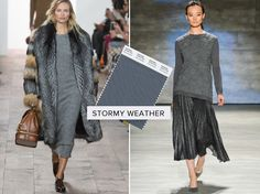 Pantone Storm Grey Fall Winter 2015 Colour Trend