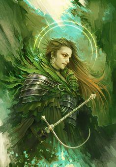 The Green Knight by Eyardt on DeviantArt