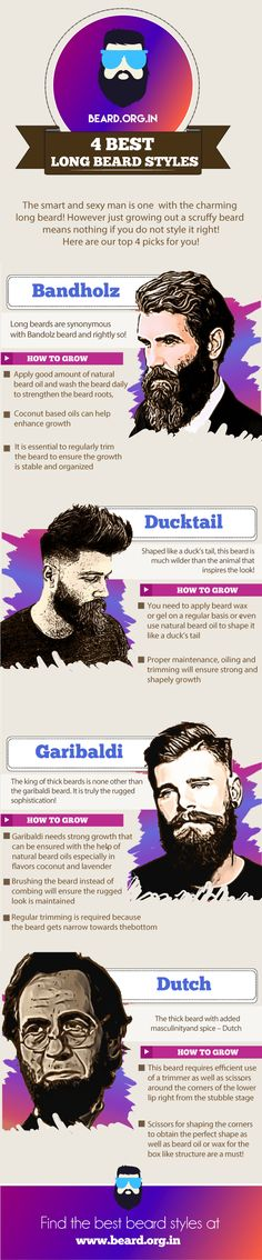 4 best long beard styles for men 2017 #beard @beardorgin @theunstitchd @hairstyleorgin @thestylecity