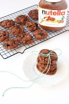 Nutella + Oreo Cookies!