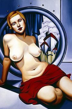 Catherine Abel (Catherine Abel). The paintings in the style of Art Deco. Discussion on LiveInternet - Russian Service Online diary