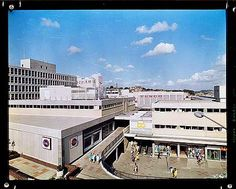 View of the Drake Circus Shopping Centre in Plymouth showing shoppers and the Tesco and C&A shops Plymouth Hoe, Plymouth England, Devon Uk, Ocean City, Shopping Center, Back In The Day, Lighthouse, United Kingdom, Sailing