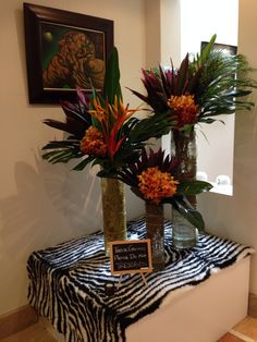 African Themed Centerpieces Sharper Solutions African