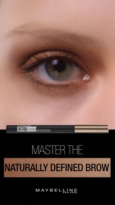 Get naturally defined brows with NEW Maybelline TattooStudio Brow Tint Pen Les sourcils naturels, pleins Brown Spots On Skin, Skin Spots, Dark Spots, Tattoo Studio, Laser Hair Therapy, Lighter Hair, Brow Tinting, Beauty Makeup, Beauty Hacks