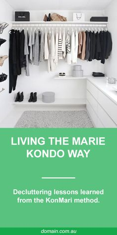 "Spurred by the documentary Minimalism, and a decision to ""buy no new stuff"" in 2018, I bought Spark Joy (admittedly new stuff, but I used up an old gift voucher), by Japanese tidying expert Marie Kondo. And now, there's nothing to tidy."