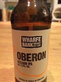 Wharfe Bank Oberon IPA 4.2% West Yorkshire,  Provided by BeerBods