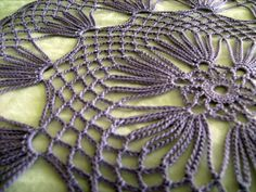 Crochet Table Doily 125 Inch Diameter by KnitsForKids
