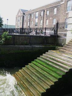 Steps down to the Thames, Deptford Strand, SE8