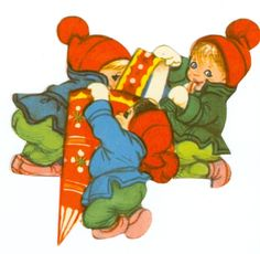 DANISH Kravlenisser  | ENGLISH Crawl Gnomes {Elves, Goblins, Pixies} by Iben Clante early 1970s.