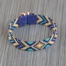 bead loom bracelet sluiting ile ilgili görsel sonucu