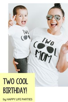 TWO COOL Family tees! Perfect second birthday theme! 2nd Birthday Party For Boys, Family Birthday Shirts, 2nd Birthday Shirt, Second Birthday Ideas, 2nd Birthday Invitations, Birthday Themes For Boys, Baby Boy Birthday, Family Birthdays, Family Tees