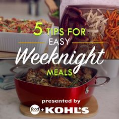 ✔ Dinner For 2 Videos Table Setting Great Recipes, Dinner Recipes, Favorite Recipes, Food Network Recipes, Cooking Recipes, Healthy Recipes, Easy Weeknight Meals, Quick Meals, Meals For The Week