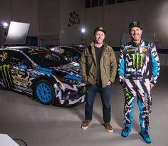 Check Out Hoonigan Racing's Eyeball-Confounding 2017 Rallycross Livery