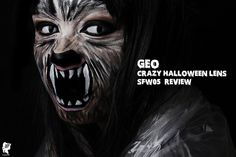 Halloween makeup Idea. LIKE it if you think this is COOL!   More makeup look in http://njennifer.blogspot.nl/2013/10/sponsored-geo-crazy-halloween-lens.html. And you can get this lenses in http://www.uniqso.com/geo-sfw05  #Halloween #Makeup