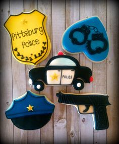 Police Officer Detective Law Enforcement Crime Scene by CookieBarn