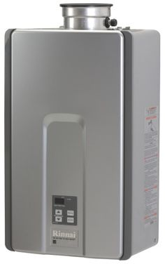 Rinnai RL75iN Interior Nat. Gas Tankless Water Heater 82% Efficiency